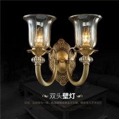 【壁灯】A2灯盟Q029-2B 客厅灯全铜卧室灯餐厅壁灯(Ⅴ)