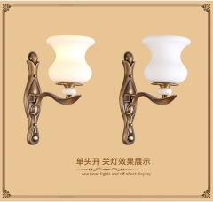 【壁灯】博普J968美式卧室全铜壁灯(Ⅴ)