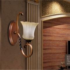 【壁灯】欧杰思78039(20个起订)美式客厅铁艺壁灯(Ⅴ)