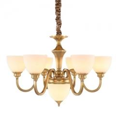 【吊灯】A3可琪洛 T111客厅卧室玻璃罩吊灯书房餐厅灯(Ⅴ)