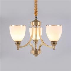 【吊灯】A3可琪洛 T135客厅卧室玻璃罩吊灯餐厅卧室灯(Ⅴ)