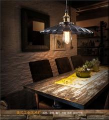 【吊灯】欧杰思78112-1D美式铁艺乡村简约温馨餐厅书房卧室吊灯(Ⅴ)