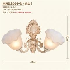 【壁灯】A2晶品照明2004欧式客厅锌合金壁灯(Ⅴ)