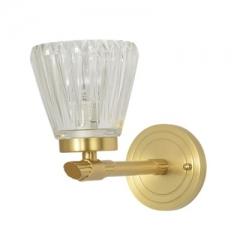【壁灯】A2木明原 8816-1B卧室单头全铜床头客厅电视墙玻璃壁灯(Ⅴ)