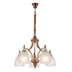 【吊灯】(预售15天)A3达米奇 3DN113卧室别墅餐厅全铜书房吊灯(Ⅴ)