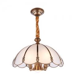 【吊灯】(预售15天)A3达米奇 2DN045-4+1餐厅卧室别墅客厅灯具(Ⅴ)