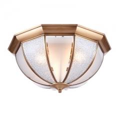 【吸顶灯】(预售15天)A1达米奇 2XN151-6 餐厅卧室玻璃吸全铜客厅吸顶灯(Ⅴ)