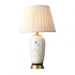 【台灯】(预售7天)A2达米 奇陶瓷景德镇手工画6020酒店书房客厅卧室床头灯(Ⅲ)