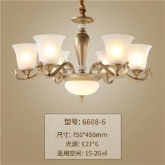 【吊灯】正益照明6608欧式吊灯(Ⅴ)