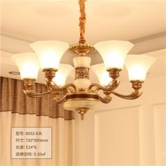【吊灯】正益照明8032美式客厅吊灯(Ⅴ)