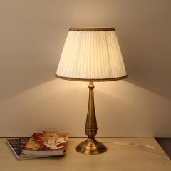 【台灯】美世尚品XD058-1美式简约客厅全铜台灯(Ⅴ)