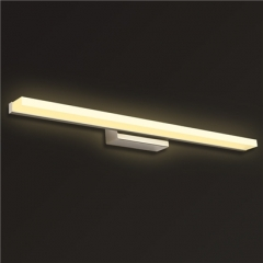 【镜前灯】贺曼8103  现代卫生间浴室LED梳妆台不锈钢亚克力灯饰铝材镜前灯(Ⅴ)