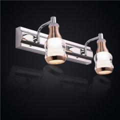 【镜前灯】贺曼8107  现代卫生间浴室现代LED梳妆台不锈钢镜前灯(Ⅴ)