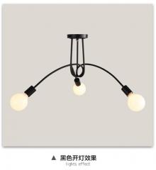 【吸顶灯】贺曼照明5020  美式卧室铁艺书房田园艺术餐厅吸顶灯(Ⅴ)