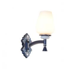 【吊灯】异虎998036轻奢美式铁艺陶瓷客厅吊灯(Ⅴ)