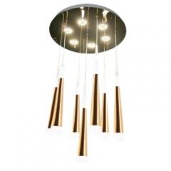 【吊灯】威旺7341   现代简约复式别墅酒店餐厅水晶吊灯(Ⅴ)