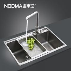 【手工纳米水槽系列】诺帝玛水槽NM533,650*440*215(Ⅰ)