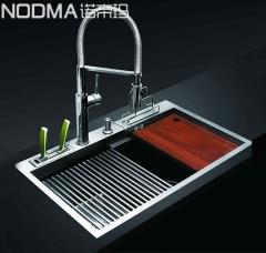 【手工槽加厚面板系列】诺帝玛水槽NU573H,800*480*230(Ⅰ)