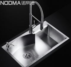 【手工槽加厚面板系列】诺帝玛水槽NU583,750*460*220(Ⅰ)