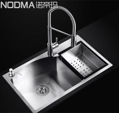 【手工槽加厚面板系列】诺帝玛水槽NU589,780*460*220(Ⅰ)