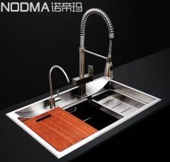 【手工单槽系列】诺帝玛水槽NU576,780*500*230(Ⅰ)