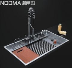 【手工双槽系列】诺帝玛水槽NU562,880*500*245(Ⅰ)