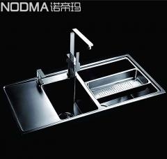 【手工双槽系列】诺帝玛水槽NU524,1060*490*225(Ⅰ)