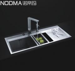 【手工双槽系列】诺帝玛水槽NU527,1060*490*225(Ⅰ)