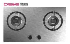 【灶具】德意蓝晶灵系列双灶嵌入式灶具SD2632,680*350 4-R35mm