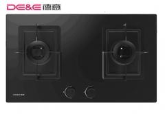 【灶具】德意蓝晶灵系列双灶嵌入式灶具SD2635,695*398 4-R35mm