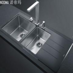 【手工双槽系列】诺帝玛水槽NU872,1060*510*220(Ⅰ)