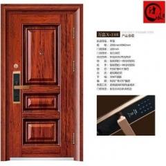 【单门】诗派指纹密码锁外包防盗门 X-1101,(2050mm*960mm)( Ⅲ)