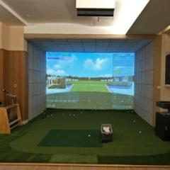 【室内模拟系统】爱上体育室内模拟系统MSHD Golf高尔夫领导者