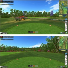 【三维立体室内高尔夫系统】爱上体育三维立体室内高尔夫系统Visual golf高尔夫领导者