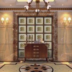 【瓷砖背景墙】欧卡登电视沙发艺术组合背景墙 古色印象(Ⅲ)