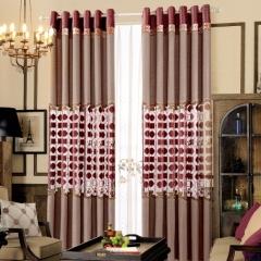 【定制窗帘】红磨坊窗帘中式风