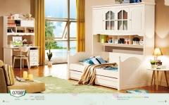 【儿童家具】生态家ZW儿童衣柜床E1高密度环保板0708#(Ⅲ)