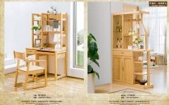 【书房家具】生态家榉木HYX书桌SF301、间厅柜CT302(Ⅲ)