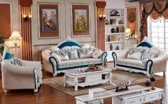【客厅家具】生态家SDS 欧式现代 客厅沙发363#(Ⅲ)
