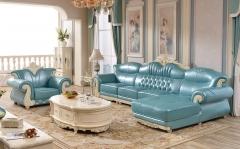 【客厅家具】生态家BR 欧式真皮沙发Y29C(Ⅲ)