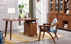 【书房家具】生态家板木结合ALB书桌书台68-S11#、 书椅68-S32#(Ⅲ)
