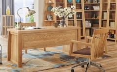 【书房家具】生态家白蜡木BOSP书桌,书椅DF-1601#(Ⅲ)