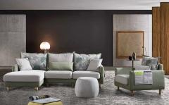 【客厅家具】生态家LSM 布艺沙发组合L8157#,(Ⅲ)