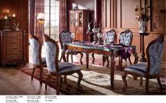 【餐厅家具】生态家进口红翅木JMJ餐厅组合8502B#(Ⅲ)