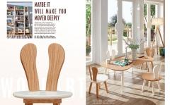 【儿童家具】生态家ZMY橡木休闲几HE-37#1、HE-376#小凳 (Ⅲ)