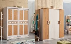 【儿童家具】生态家ZMY橡木衣柜HE-337#、HE-336#衣柜 (Ⅲ)