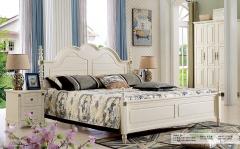 【卧室家具】生态家FD板木床8606#、床头柜8602#(Ⅲ)